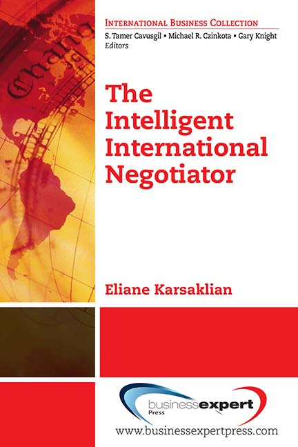 The Intelligent International Negotiator