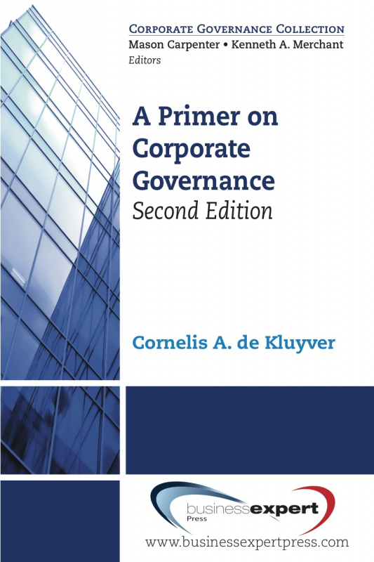 A Primer on Corporate Governance, Second Edition