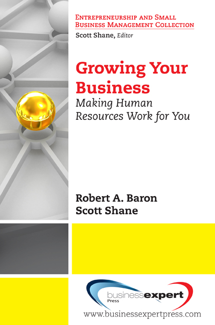 Growing Your Business: Making Human Resources Work for You