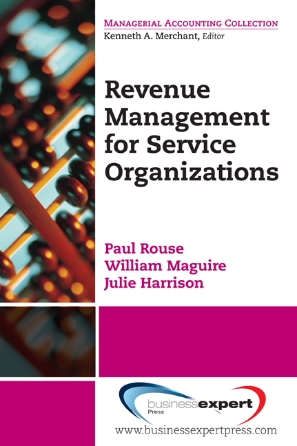 Revenue Management in Service Organizations