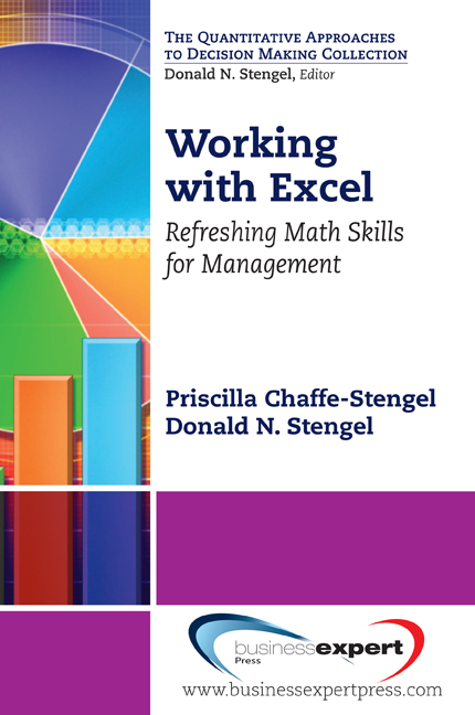 Working with Excel: Refreshing Math Skills for Management