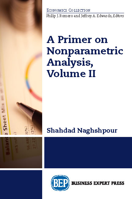 A Primer on Non-Parametric Analysis, Volume II