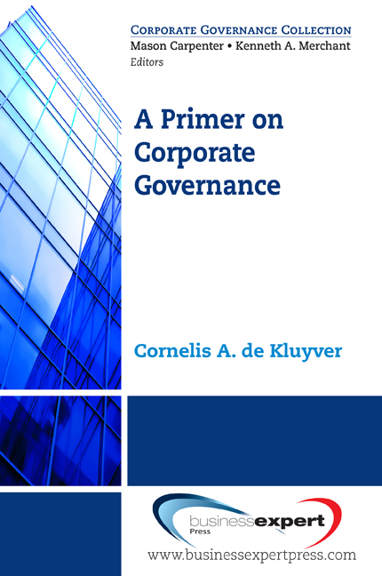 A Primer on Corporate Governance