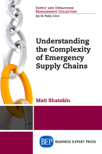 Understanding the Complexity of Emergency Supply Chains