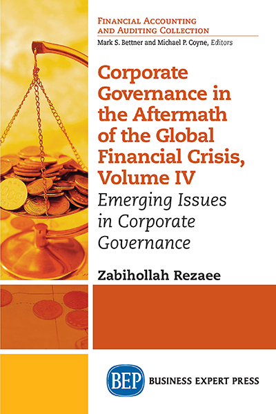 Corporate Governance in the Aftermath of the Financial Crisis. Volume IV: Emerging Issues in Corporate Governance