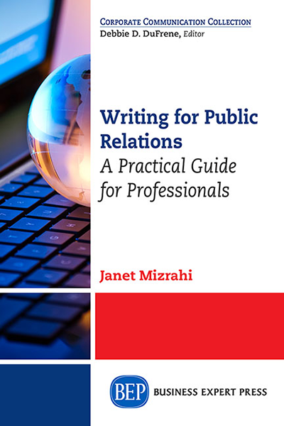Writing For Public Relations: A Practical Guide for Professionals