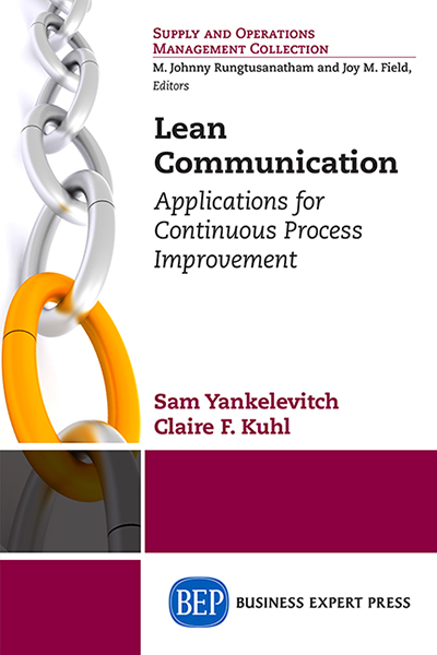 Lean Communication: Applications for Continuous Process Improvement