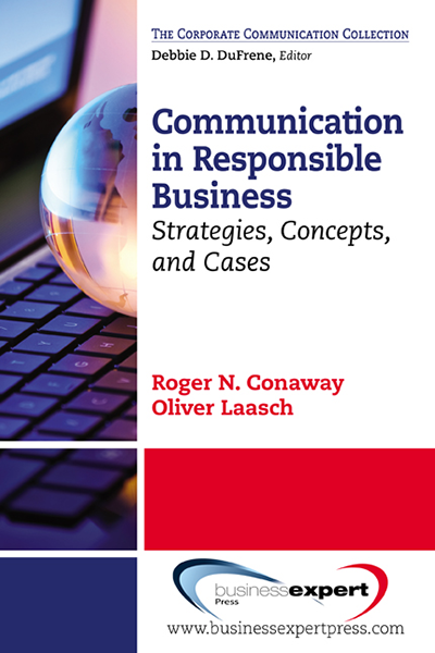 Communication in Responsible Business: Strategies, Concepts, and Cases