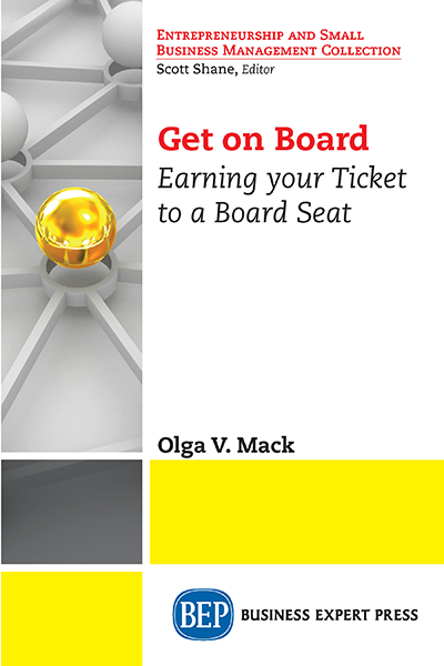Get On Board: Earning Your Ticket to a Board Seat
